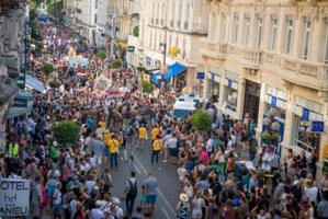 Grande parade d'ouverture OFF 2017 © AF&C - Cédric Delestrade/AMC.