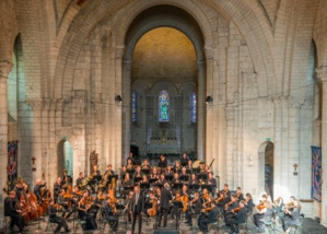 L'Orchestre des Champs-Élysées et Dietrich Henschel © Michel Garnier.