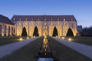Abbaye de Royaumont, façade © Jérôme Galland.