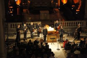 Olivier Fortin, Damien Guillon et l'Ensemble Masques © DR.