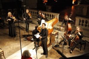 Damien Guillon (contre-ténor) et l'Ensemble Masques © DR.