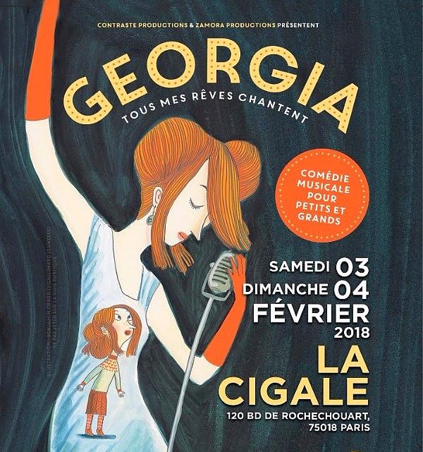 """""""Georgia - Tous mes rêves chantent"""", une comédie musicale de l'Ensemble Contraste"""