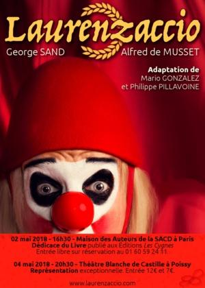"""""""Laurenzaccio"""" en mai 2018… Un Livre et une représentation exceptionnelle !"""