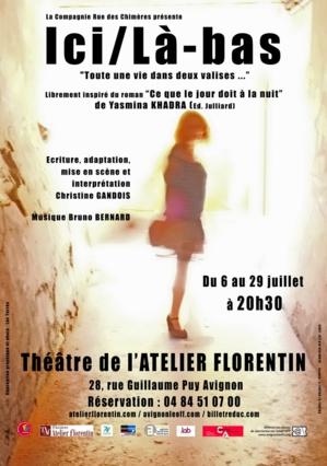 """● Avignon Off 2018 ● """"Ici/Là-bas"""" par la Cie Rue des Chimères"""