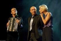 Aurélien Noël, Jacques Pessis et Nathalie Lhermitte. © Alfred Perrin.