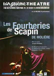 """29/04 au 19/06/2011, Vingtième Théâtre, Paris, """"Les Fourberies de Scapin"""""""
