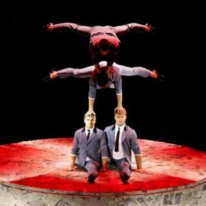 Quatuor Prilepin, acrobates voltigeurs © DR.