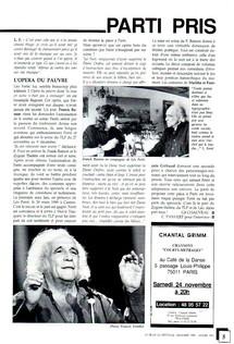 Pages 4 et 5 du magazine La Revue du Spectacle, n°spécial de décembre 90 et janvier 91