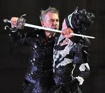 "Philippe Torreton dans ""Hamlet"" © Francis Rey"