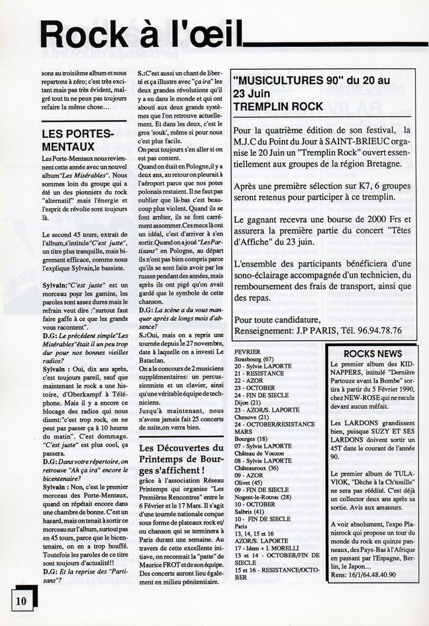 Tous droits réservés © Gil Chauveau/La Revue du Spectacle 2011.