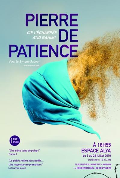 ● Avignon Off 2019 ● Pierre de patience par la Compagnie L'Échappée