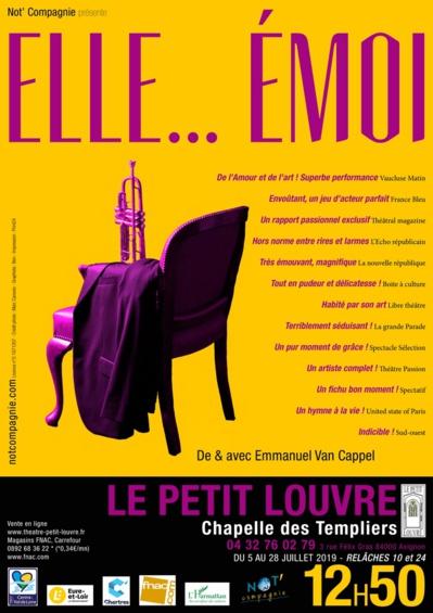 ● Avignon Off 2019 ● Elle… Émoi par Not' Compagnie