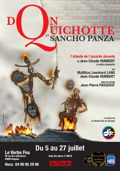 ● Avignon Off 2019 ● Don Quichotte et Sancho Panza par la Compagnie 7pm
