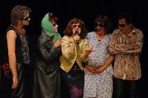 """""""Le cabaret des hérétiques"""", Théâtre du Maquis © Fanette Bonnet."""