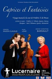 """6/11 au 18/12/2011, Le Lucernaire, Paris, """"Caprices et fantaisies"""""""