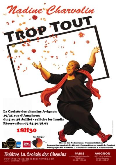 """● Avignon Off 2019 ● """"Trop Tout"""" par la Compagnie Aussi… Mais pas que !"""
