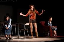 Marie Mainchin, Sophie Parel et Cécile Magnet © Étienne de Giovanni.