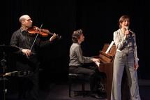Lionel Mendousse, Bertrand Ravalard et Sandra Aliberti © Jacques Besse.