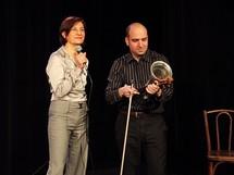 Sandra Aliberti et Lionel Mendousse © Jacques Besse.