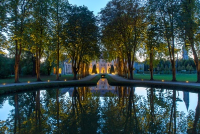 Abbaye de Royaumont, octobre 2016 © Yann Monel.