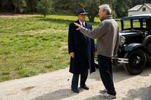 Leornado DiCaprio et Clint Eastwood © 2011 Warner Bros.
