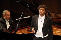 Helmut Deutsch, Jonas Kaufmann lors d'un récital à l'Opéra de Los Angeles © Robert Millard/LA Opera.