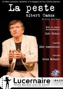 """25/01 au 17/03/2012, Le Lucernaire, Paris, """"La Peste"""""""