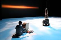 """""""Cinq Ryoanji"""", pièce musicale et chorégraphique pour 6 musiciens et 5 danseurs © DR."""