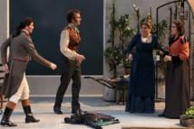 Marianne Crebassa, Cyrille Dubois, Andreea Soare et Ilona Krzywicka © Opéra national de Paris/Mirco Magliocca.