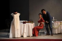 Zoé Nicolaidou et Florian Sempey © Opéra national de Paris/Mirco Magliocca.