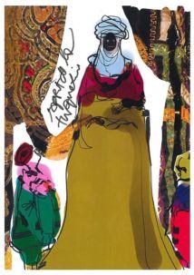 Croquis pour le costume de la Turquerie © Christian Lacroix.