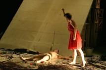 """""""Il Minautoro"""" par Teatro La Ribalta, le 7 juillet 2012 © Gil Chauveau."""
