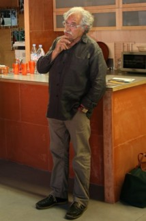 Michel Crespin, créateur du FAI AR, à la Cité des Arts de la Rue de Marseille © Gil Chauveau.