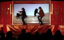 """Annibal et ses éléphants """"Le film du dimanche soir"""" © DR."""
