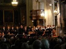 Les Pages et les Chantres du Centre de Musique Baroque de Versailles, Festival 2010 © DR.