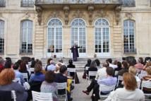 Charles Gonzalès, Nocturnes du musée Rodin, 2012 © Alexis Berg.