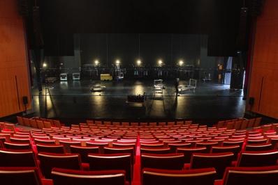 Salle Barbara Hendricks, Le Théâtre Scène conventionnée de Laval © Le Théâtre Laval.