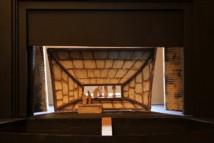 """Opéra de Dijon, Prémaquette pour """"Ariane et Barbe-Bleue"""" © Gilles Abegg."""