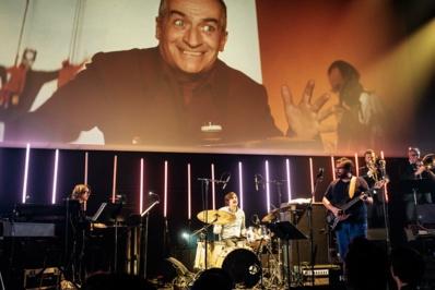 """Concert """"François de Roubaix"""", Fred Pallem et Le Sacre du Tympan © Sylvain Gripoix."""