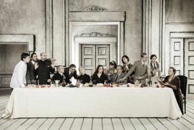 """""""Chacun sa vérité"""", mise en scène de Filippo Dini © Laila Pozzo."""
