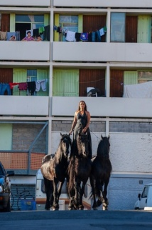 Tournage Centaure à la Buisserine © Philippe Praliaud.