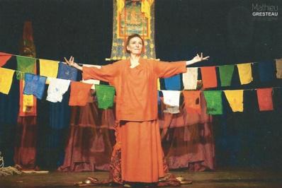 Pierrette Dupoyet dans un précédent spectacle