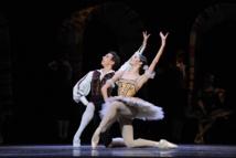 """""""Don-Quichotte"""", Denys Cherevychko et Maria Yakovleva © Wiener Staatsballett/Domo Dimov."""