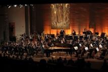 Denis Matsuev et l'Orchestre Philharmonique de Saint-Pétersbourg © Yannick Perrin.