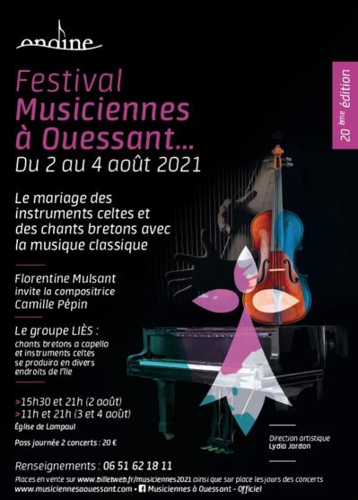 """Festival """"Musiciennes à Ouessant"""", place aux dames !"""