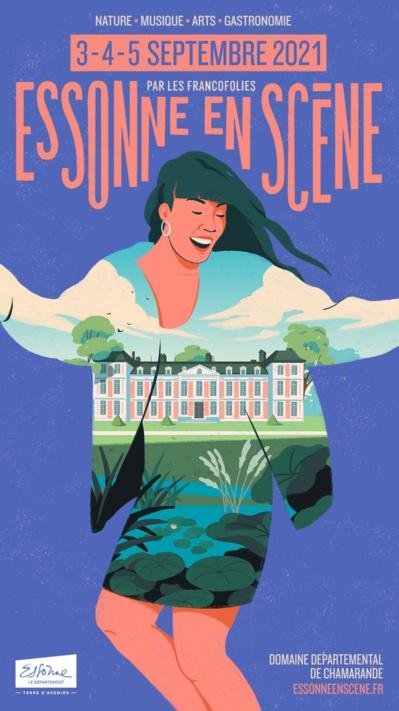 Essonne en scène… Expérience totale, dans un cadre historique et champêtre, entre concerts, art contemporain et gastronomie