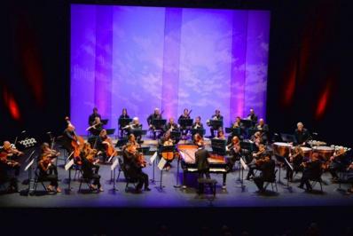 François Dumont et l'Orchestre Pasdeloup © Yvan Bernaer.
