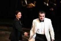 """Macbeth"", Nirupama Nityanandan et Serge Nicolaï © Lucile Cocito."