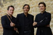 Emmanuel Pahud, Éric Le Sage et Paul Meyer © Nicolas Tavernier.