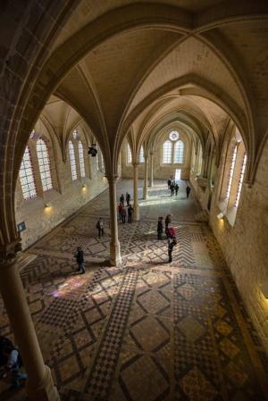 Réfectoire de l'Abbaye de Royaumont © Agathe Poupeney/PhotoScène.